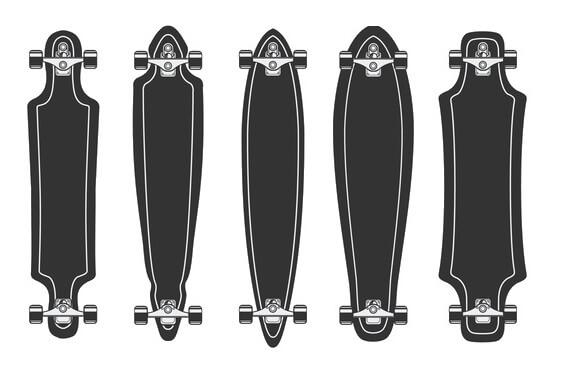 Longboard Decks Fahrstile