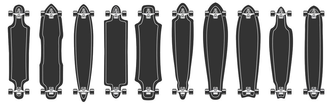 Longboard Kaufen Formen