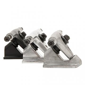 Apollo Longboard Achsen - New York   2er Set Ersatzachsen, Trucks   Farbe: Silver Polished -
