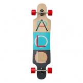 Apollo Longboard Tahiti, Komplettboards, Twin-Tip Drop-Through Freeride Skaten Cruiser Board -