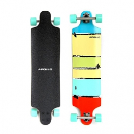 "APOLLO MAUI 39"" TWIN TIP TM Longboard Skateboard 7xMaple Wood Ahorn ABEC7 11006 -"