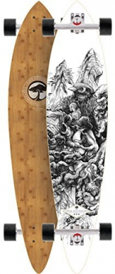 Arbor Fish Bamboo 38 2015 Complete Pintail Longboard Skateboard New On Sale by Arbor -