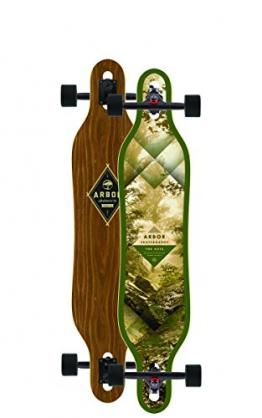 Arbor Longboard grün Einheitsgröße -