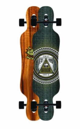 Arbor Longboard-Komplettset braun Einheitsgröße -