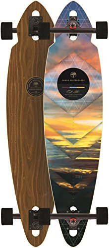 Arbor Mindstate Walnut 2015 Complete Longboard Skateboard New by Arbor -
