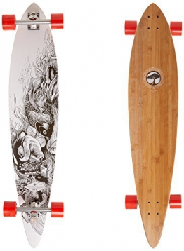 Arbor Timeless Pin Bamboo Complete Longboard, 46 by Arbor -