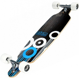 Atom Drop Through Longboard - Blau, 36 Inch -