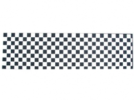 Black Diamond Griptape Checker white -