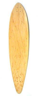 Blank Longboard Deck nature - Skateboard Profi Longboard USA -