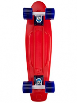 "Cruiser Complete Long Island Longboards Buddy Red 22.5"" Complete -"