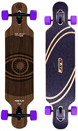 "Elixir Longboard 2015 Cyclope Sp15 Flex 1 Twin Tip drop through 38,8"" -"