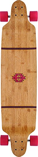 Globe Longboard Bannerstone, Red/Bamboo, One size, 10525158 -
