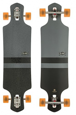 Globe Longboard Geminon 38.5, Charcoal/Black, 10525138-CHARBLK -