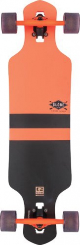 Globe Longboard Geminon, Fluoro Orange, One size, 10525138 -