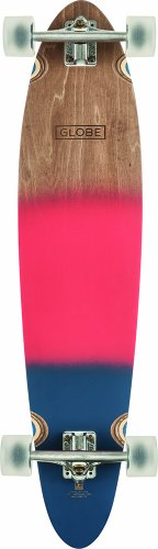 Globe Longboard Pinner Classic, Red/Navy Spray, One size, 10525187 -