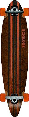 Globe Longboard Pinner Complete 41.25, Black/Orange, 104 x 25 x 12 cm, 10525025 -