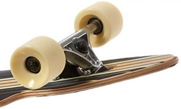 Globe Longboard Pinner Drop Through, Black/Gold, 10525225-BLKGLD-41 -