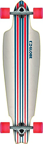 Globe Longboard Prowler Cruiser 38.5, White/Blue/Red, One size, 10525060 -
