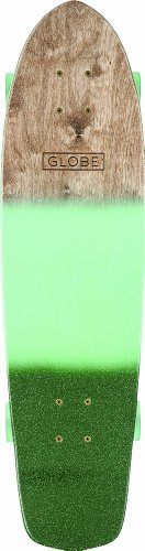 Globe Skateboard Tracer Classic, Aqua/Green Spray, One size, 10525186 -