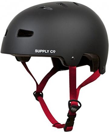 Helm und Schoner Set Shaun White P2 Gr. 52-54, 56-59 Schutzhelm Freestyle, BMX Protektoren (M 52-54) -