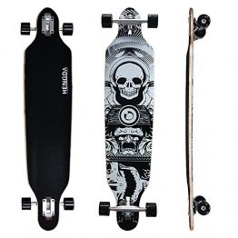 Komplett Longboard von Hengda®-Totenkopf