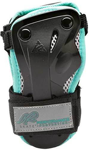 K2 Damen Schoner Performance W Wrist Guard, Schwarz/Blau, L, 3041604.1.1 -
