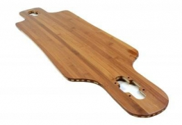 Koston Profi Longboard Bambus Fiberglass Drop Through Deck Flex 2 (39 x 9.5 Inch) -