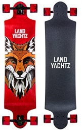 Landyachtz Switch 40 Longboard Complete Skateboard. Dropped deck freeriding exceptionally staple symmetrical design by Landyachtz -