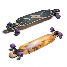 "Loaded Boards Dervish Sama 42.8"" Flex 2 Complete -"