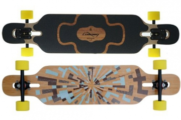 Loaded Tan Tien Bamboo Flex 2 Komplett Longboard -