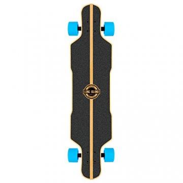 Long Island Kana Top Drop FS Longboard Komplettboard 41