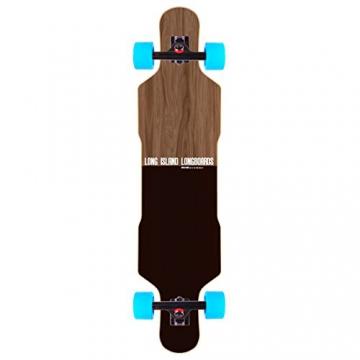 """Long Island Kana Top Drop FS Longboard Komplettboard 41"""" -"""