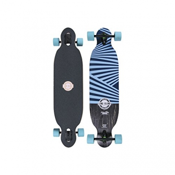"Long Island Longboard MB101-Retro Drop Through Twin Tip 9,5""x39,3"" -"