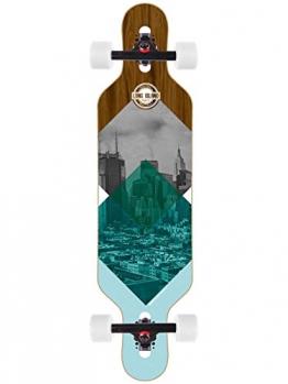 """Long Island Skyline Drop FS Longboard Komplettboard 37"""" -"""