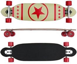 Longboard Board 96 cm lang ABEC-7 Kugellager Komplettboard Skateboard -