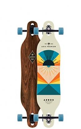 "Longboard Complete Arbor Axis 9.0"" x 40"" Cruiseship Complete -"