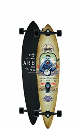 "Longboard Complete Arbor Fish GT 9"" Complete -"
