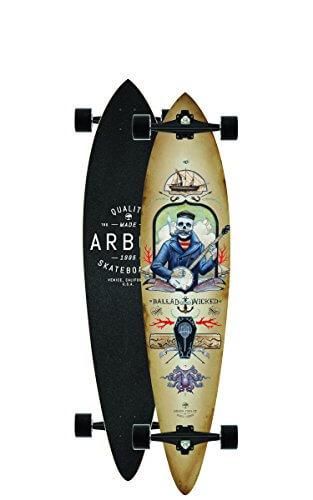 "Longboard Complete Arbor Fish GT 9"" Complete -"