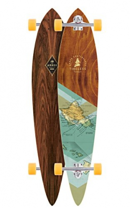 "Longboard Complete Arbor Timeless Premium 9.5"" x 46"" Complete -"