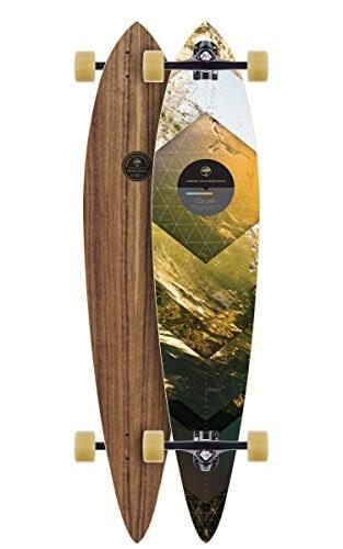 "Longboard Complete Arbor Walnut Timeless 10"" Complete -"