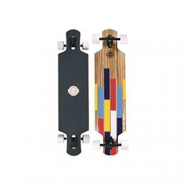 """Longboard Complete Long Island Longboards Bushido 9.72"""" x 40.37"""" Complete -"""