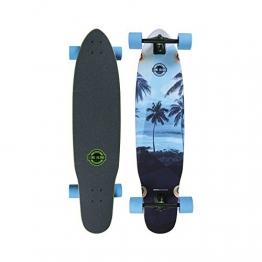 """Longboard Complete Long Island Longboards Palm 8.8"""" x 38.6"""" Complete -"""