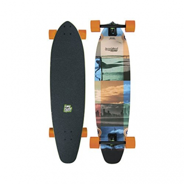 "Longboard Complete Long Island Longboards Session 9.1"" x 37.7"" Complete -"