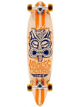 "Longboard Complete Mindless Longboards Tribal Rogue II 38"" x 9.75"" Complete -"