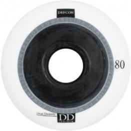 Longboard Defcon Rollen Weiß 4er Pack 80mm -