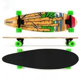 Longboard MAXOfit® No. 05 Cartoon, 84 cm, 7 Schichten Ahorn, Drop Down, Aktion solange der Vorrat reicht -