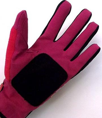 Longboard Slide Gloves - Ideal for beginners (Purple, XS) -
