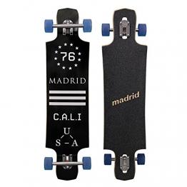 "Madrid Longboard | BLK Maniac Drop-Thru maxed | Komplettboard 39"" (99 cm) -"