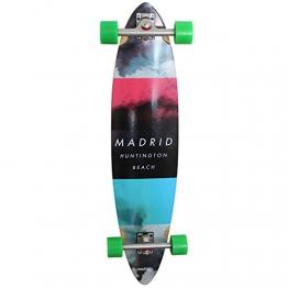 Madrid Longboard 'Cloud Basic Pimped' Komplettlongboard (7151-703050_P), Größe:ONESIZE -