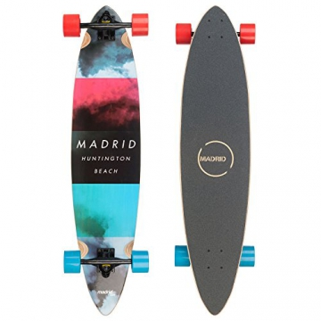 "Madrid Longboard Cloud Blunt 38"" (96,5cm), Topmount Komplettboard Freeride Cruiser Boards -"